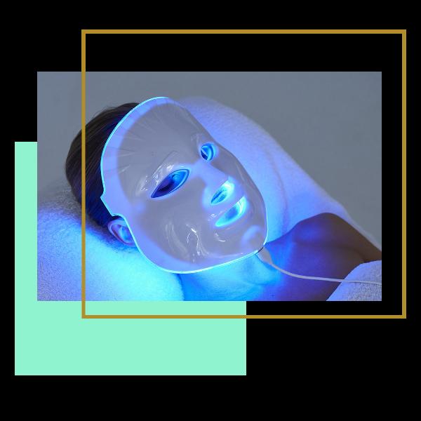 LED Maszk